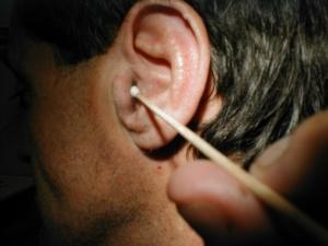 Обработка уха