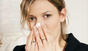 Насморк - причина этмоидита