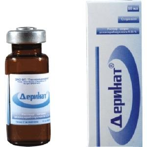 Деринат - лекарственный препарат