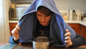 Ингаляция над картошкой при кашле, как правильно делать
