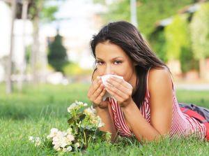 Приступ сезонной аллергии