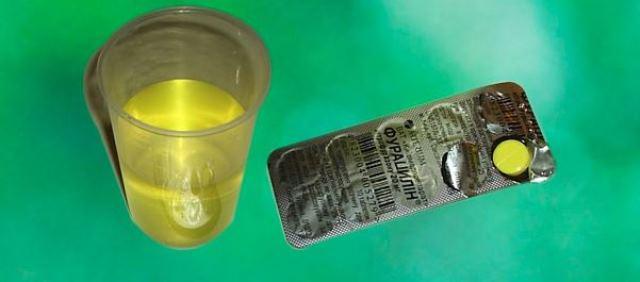 Разведение фурацилина