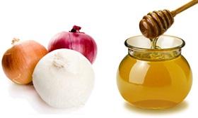 Мед с луком отличное средство