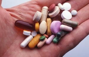Лекарства на ладошке