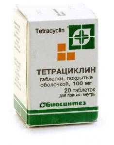 Антибиотик группы тетрациклинов