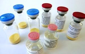 антибиотики в пузырьках