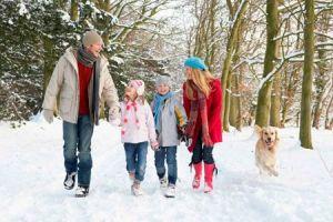 Прогулки зимой при бронхите