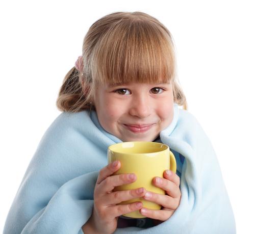 Лечение трахеита у детей теплым питьем