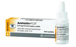 Гормональные противовоспалительные капли - Азеластин