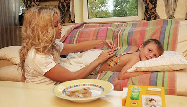 Лечение трахеита у детей горчичниками