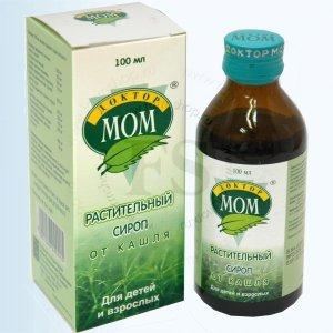 Гомеопатический сироп Доктор МОМ