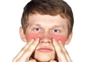 Боль в области гайморовой пазухи при гайморите