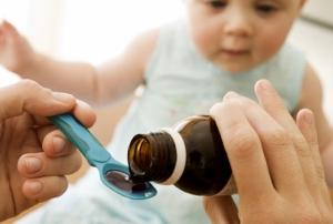 Детский сироп от кашля