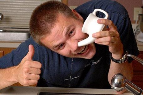 Промывание носа соленой водой при насморке