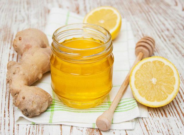 Имбирь лимон и мед
