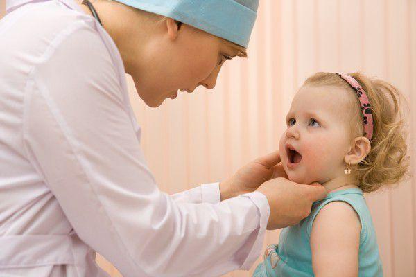 В горле что-то мешает у детей
