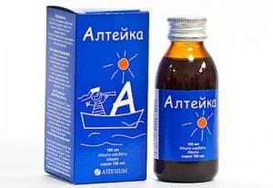 Сироп Алтейка