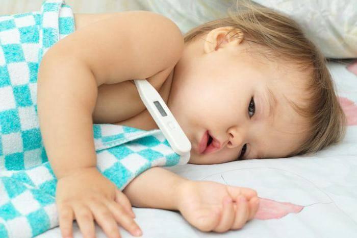 Признаки ангины у ребенка 2 года