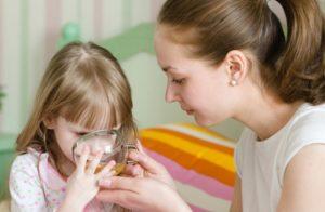 Лечение грудным сбором у детей
